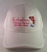 White/Pink Kokabow Hat